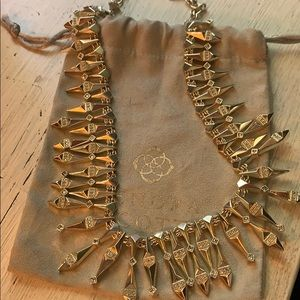 Kendra Scott Cici necklace in gold